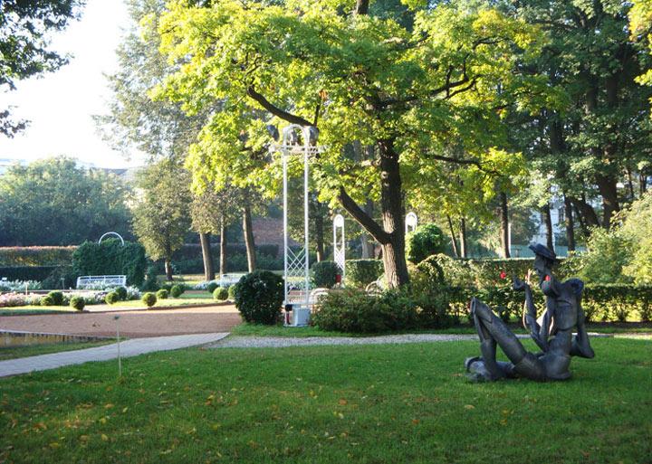 Достопримечательности Ярославля: Губернаторский сад
