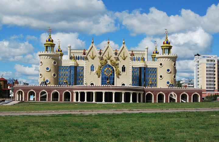 Красивые достопримечательности Казани