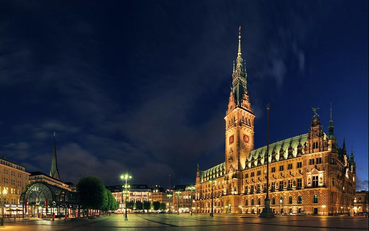 Достопримечательности Гамбурга: ратуша