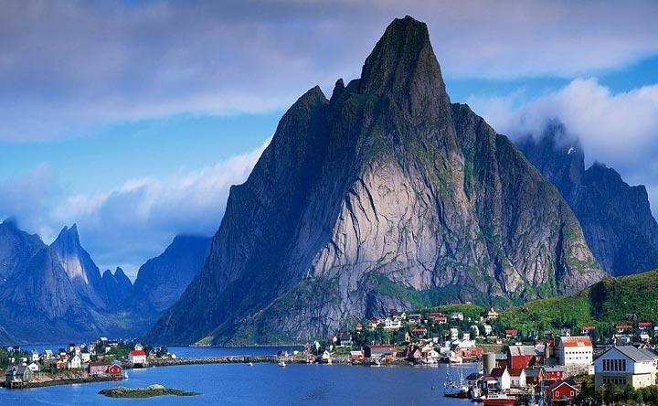 Невероятно красивые фьорды Норвегии