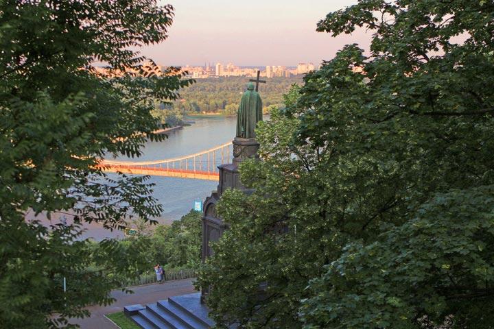 самые красивые места Киева