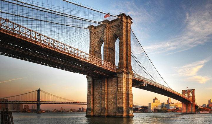 Достопримечательности Нью-Йорка: Бруклинский мост