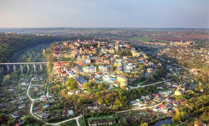 Красивый город в Украине: Каменец-Подольский