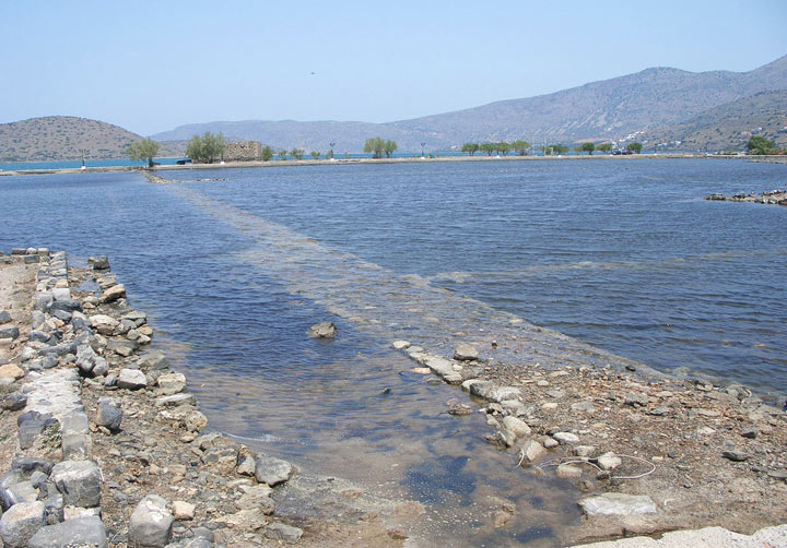 Затонувший город Олус