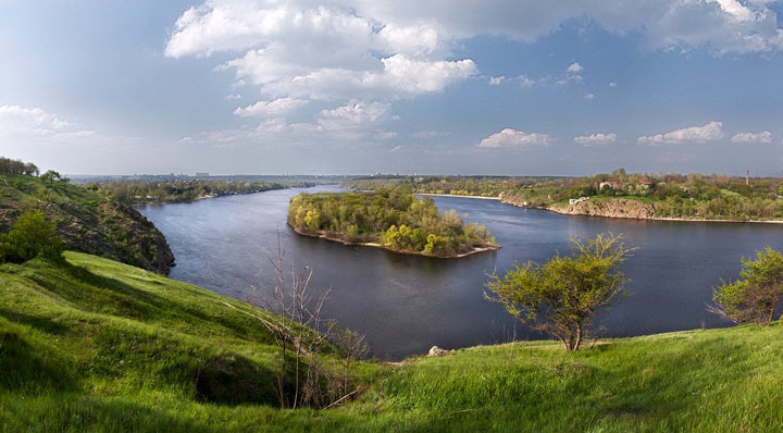 Живописные места Украины: Хортица