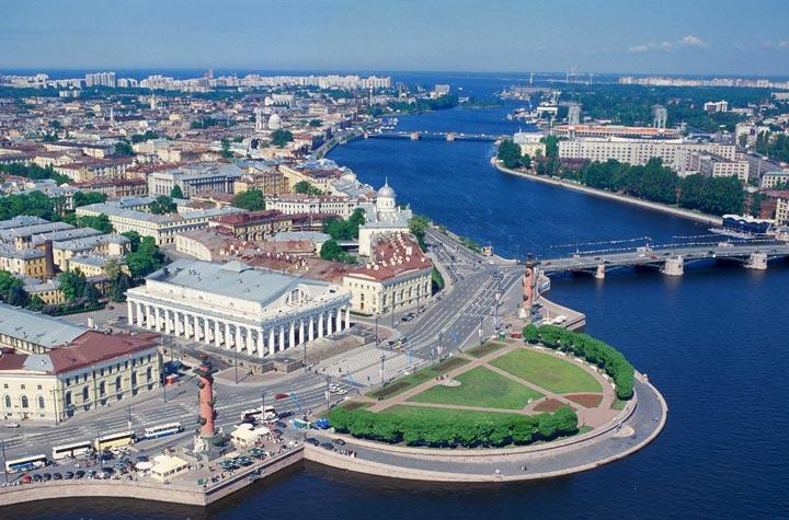 Самые красивые места Санкт-Петербурга: Васильевский остров
