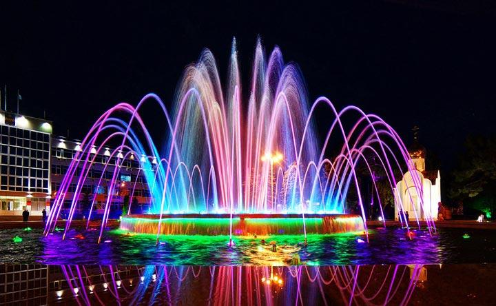 Главные достопримечательности Анапы: музыкальный фонтан