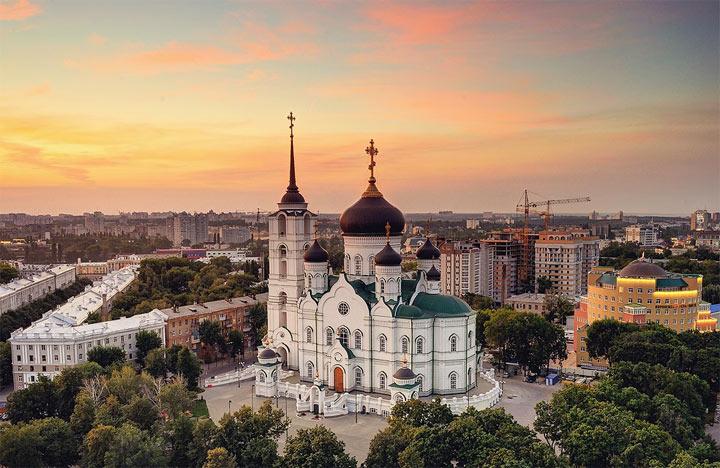 Достопримечательности Воронежа: Благовещенский собор