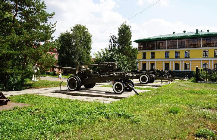 Омск: достопримечательности. Музей воинской славы
