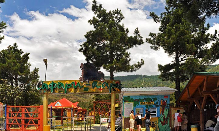 Куда пойти в Геленджике: сафари-парк