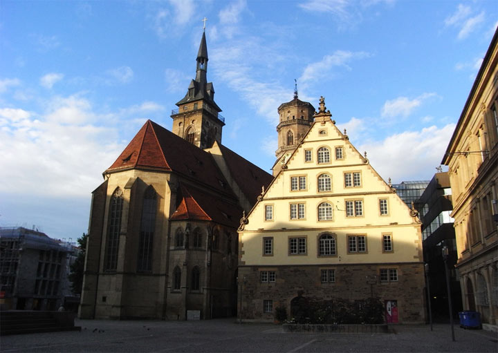 Достопримечательности Штутгарта: Монастырская церковь