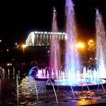 Поющие фонтаны Самары