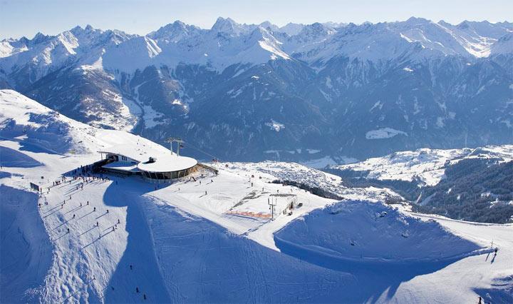 Топ 10 горнолыжных курортов Австрии