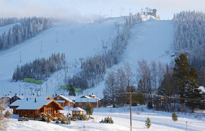 Финляндия - места для лыжного отдыха