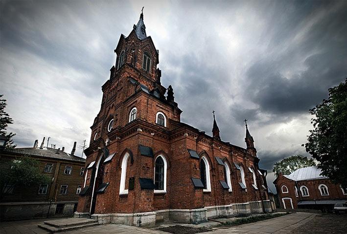 Достопримечательности Владимира: Костел