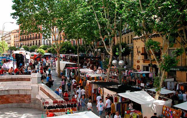 Достопримечательности Мадрида: рынок Эль Растро