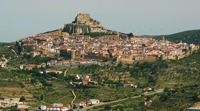 Самые красивые замки в Испании: Морелья