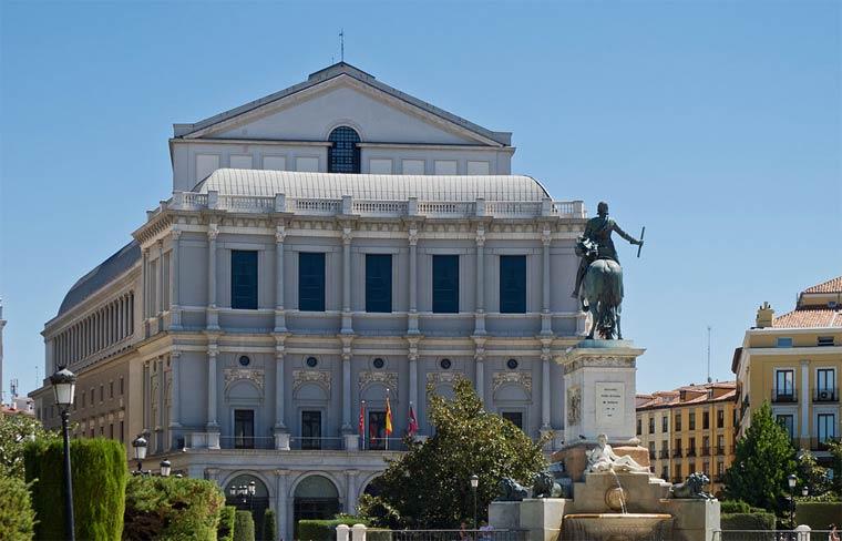 Достопримечательности Мадрида: Королевский оперный театр