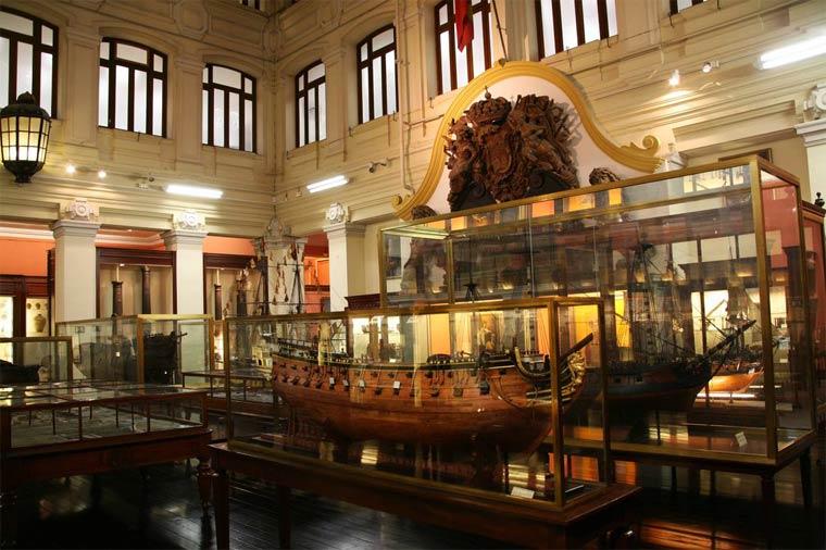Достопримечательности Мадрида: Морской музей