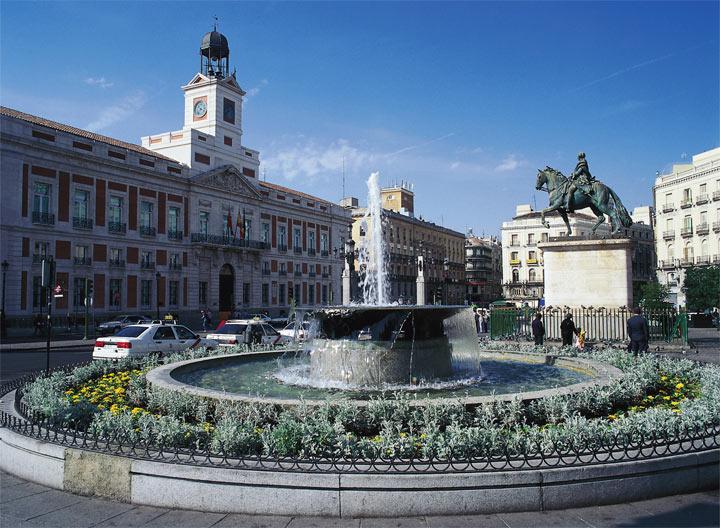 Достопримечательности Мадрида: Пуерта дель Соль