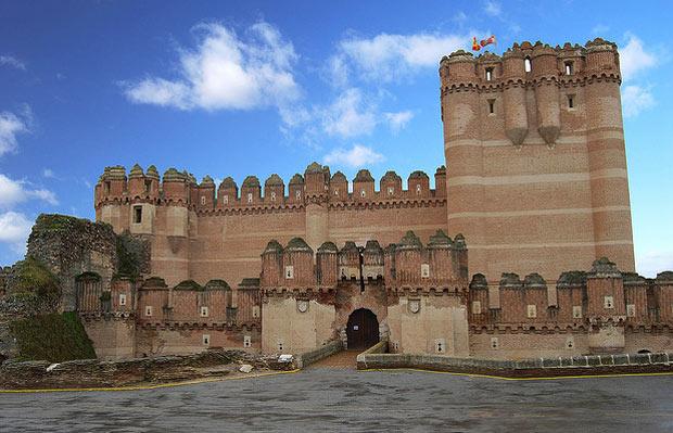 замок кока испания