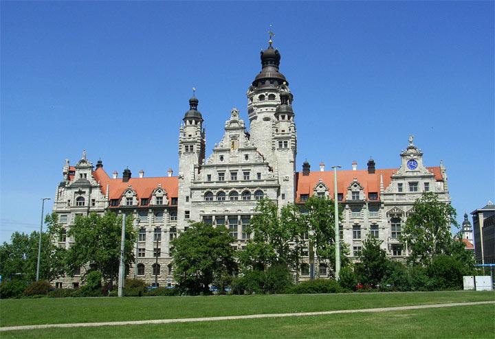 Достопримечательности Лейпцига: Новая ратуша