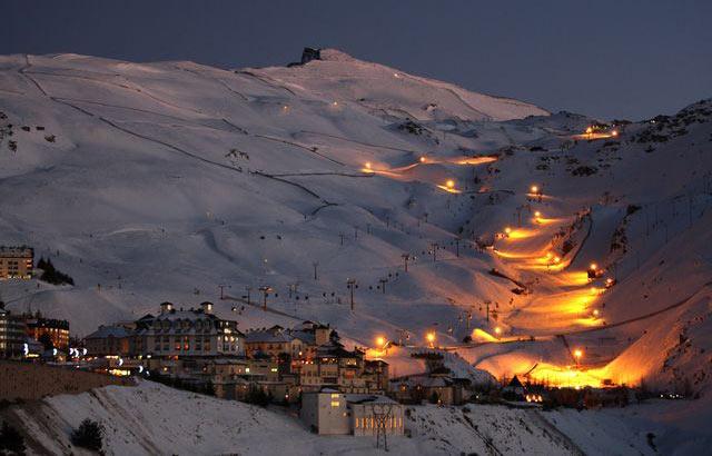 Лучшие горнолыжные курорты Испании