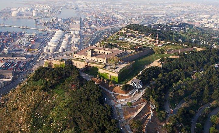 Самые красивые места Барселоны: Монжуик