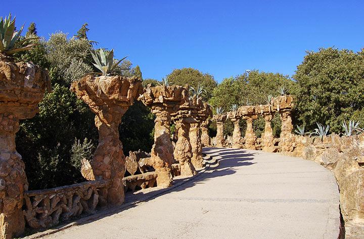 Парк Гуэля. Испания
