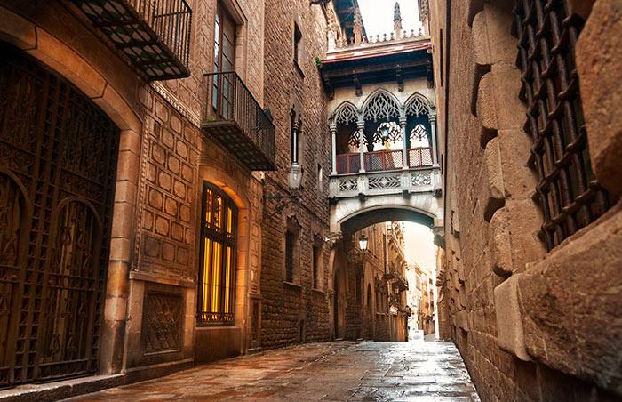 Достопримечательности Барселоны - Готический квартал