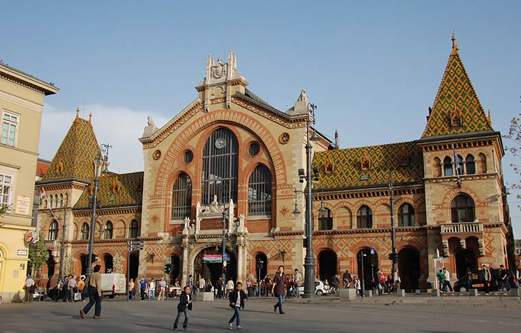 Большой Рынок в Будапеште