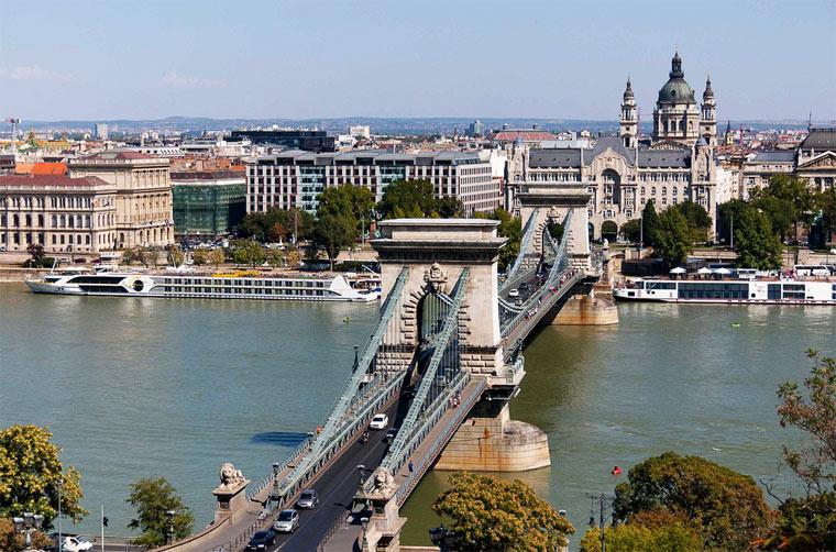 Достопримечательности Будапешта: Цепной мост