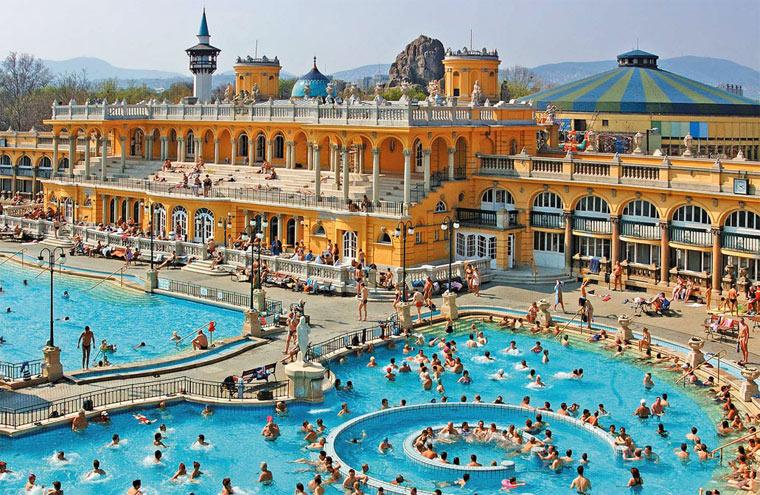 Достопримечательности Будапешта: Купальня Сеченьи