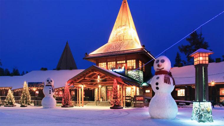 достопримечательности Финляндии: Санта-парк
