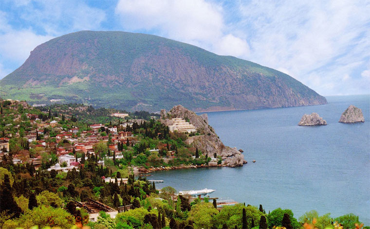 Лучшие курорты в Крыму: Гурзуф
