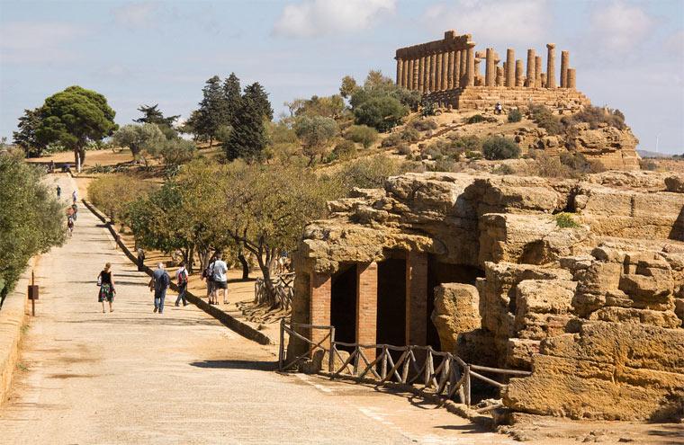 Достопримечательности Сицилии: Долина храмов