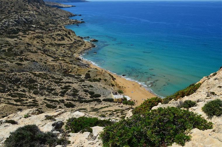 Самые красивые пляжи Крита