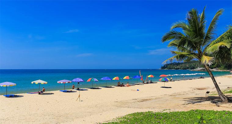 Лучшие пляжи острова Пхукет