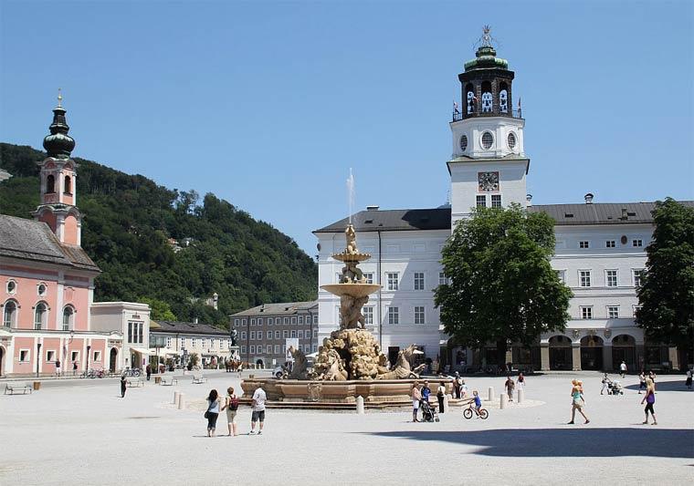 Достопримечательности Зальцбурга: Резиденцплац