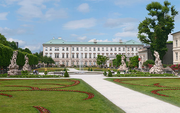 Достопримечательности Зальцбурга: Мирабель