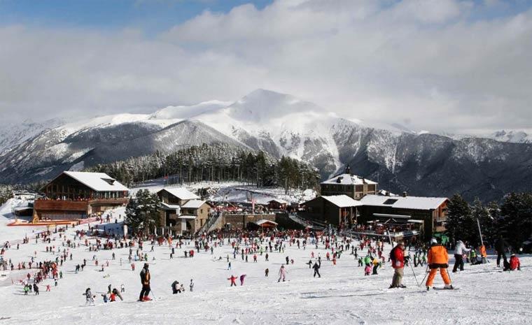 Лучшие горнолыжные курорты Андорры