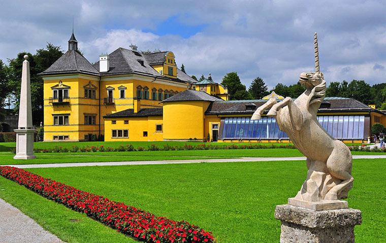 Достопримечательности Зальцбурга: Хельбрунн
