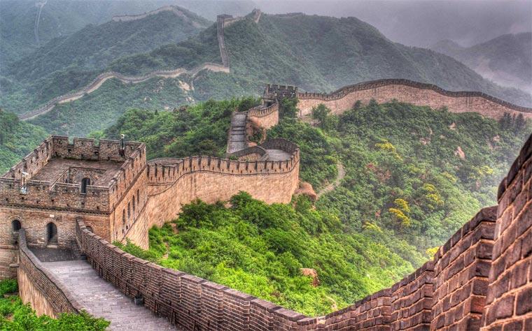 Популярные достопримечательности Китая