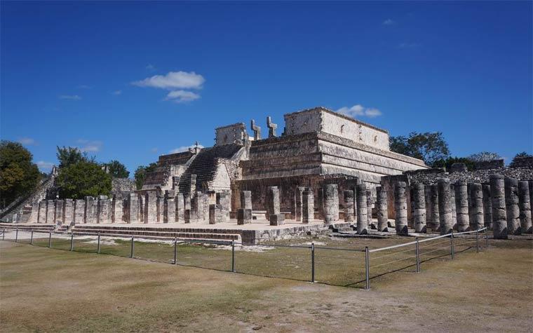 Чичен-Ица - Храм воинов