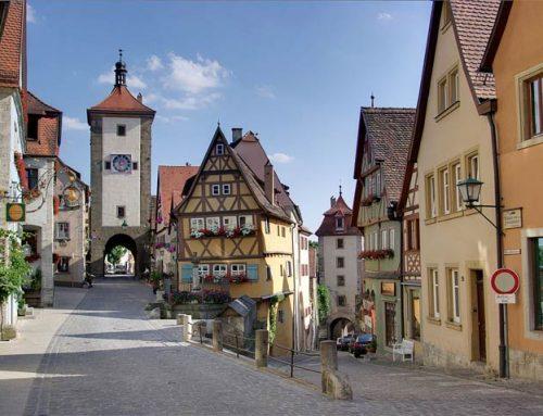 Ротенбург на Таубере – удивительный город Германии