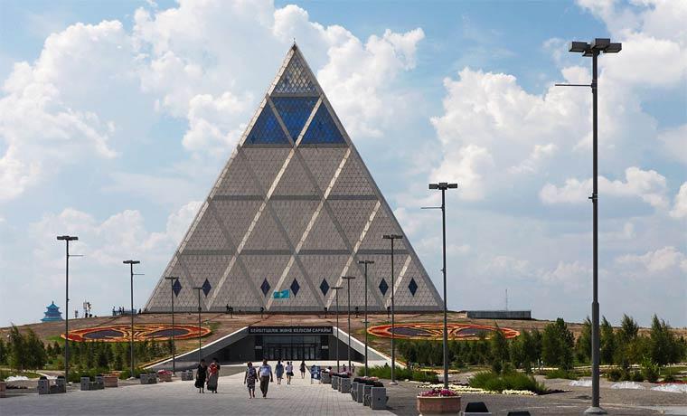 Достопримечательности Астаны: дворец мира и согласия