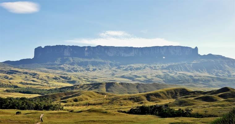 Гора Рорайма — обитель индейских богов