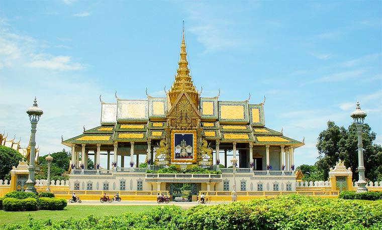 Достопримечательности Камбоджи: дворец