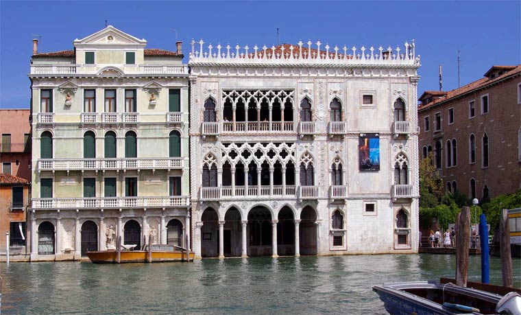 Достопримечательности Венеции: Ка'д'Оро