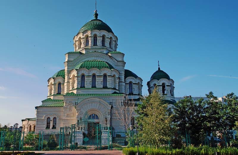 Главные достопримечательности Астрахани